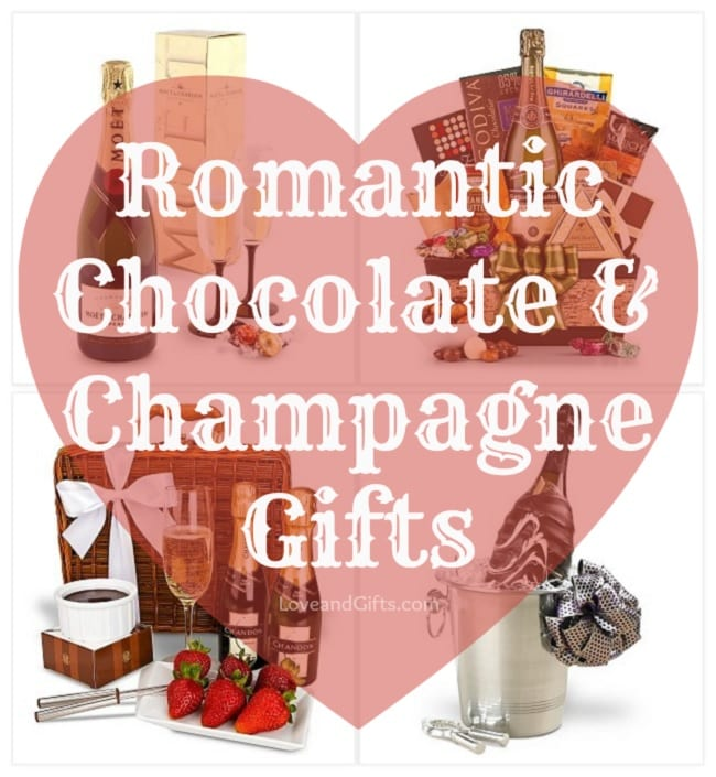 Romantic Champagne and Chocolate Gift Ideas