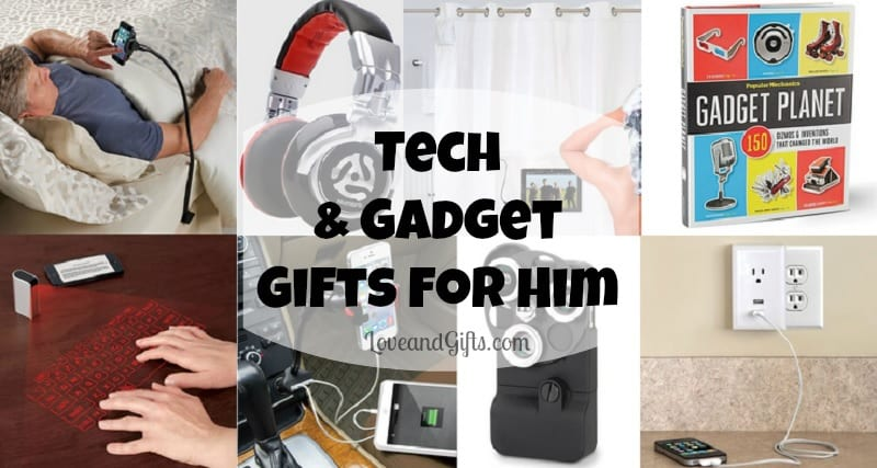 Tech and Gadget Gifts for Him