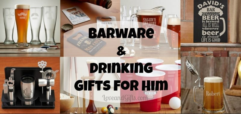 bar gifts for him via love and gifts