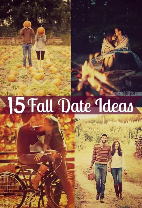 15 Fun Fall Date Ideas via LoveandGifts