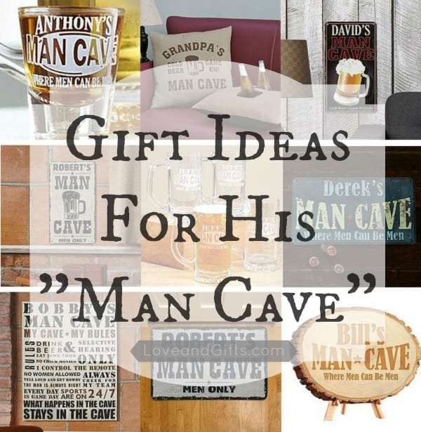 Gift ideas for his man cave for Personalized gifts for boyfriend birthday