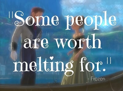 Top 20 Love Quotes from Disney Movies - Frozen