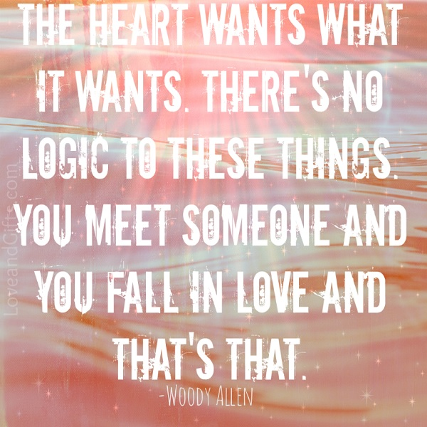 Wood Allen Quote about falling in love